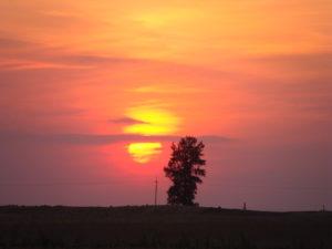 Zachód Słońca w Mgoszczu